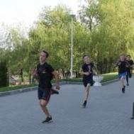 Легкоатлетическая эстафета в ДЮСШ «Метеор» под девизом «СПИДу-нет»