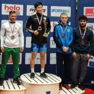 Спортсмен СШ «Метеор» занял 3 место на международном турнире в Ницце (Франция).