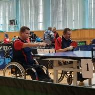 Спортсмены СШОР «Метеор» приняли участие  в Чемпионате России по настольному теннису среди лиц с ПОДА